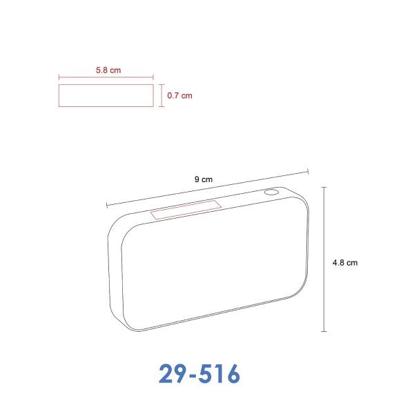 NANO GRAPHITE - Bocina delgada con conexión bluetooth y altavoz integrado. La bocina inalámbrica más delgado del mundo