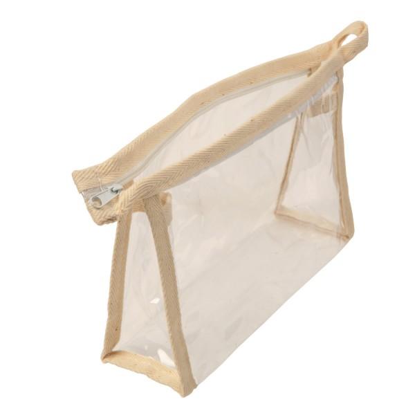 SAND - Cosmetiquera plástica transparentes
