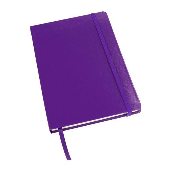 AVELLANEDA - Cuaderno grande con sujetador elástico. Medida 14 cm x 21 cm
