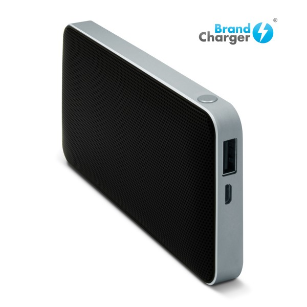 HARMONY - Bocina portátil de alta fidelidad con power bank 2,000 mah y conexión bluetooth. Incluye micrófono incorporado