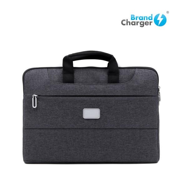 SPECTER - Portafolio para laptop, exterior repelente al agua y manchas, interior acolchonado, compartimientos ocultos