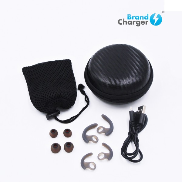 EARPLAY - Auriculares inalámbricos con sonido estéreo HQ  y base de aluminio con playtime de 4 horas
