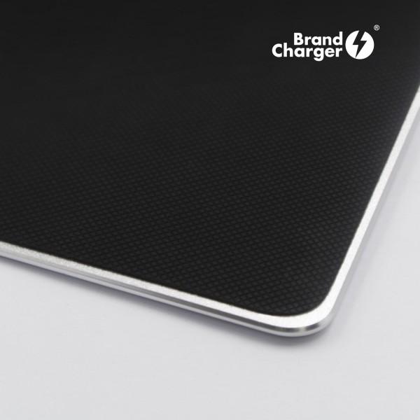 ALUMINA - Mouse pad en base de aluminio con textura microscópica que mejora la lectura de los sensores